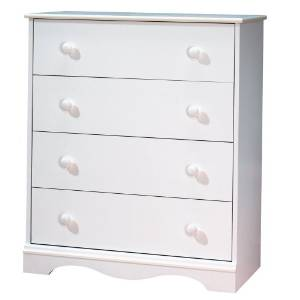 4 drawer chest eco friendly white